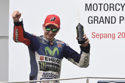 Podium: 2. Jorge Lorenzo, Yamaha Factory Racing