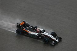 Nico Hulkenberg, Sahara Force India F1 VJM08 in the qualifying session