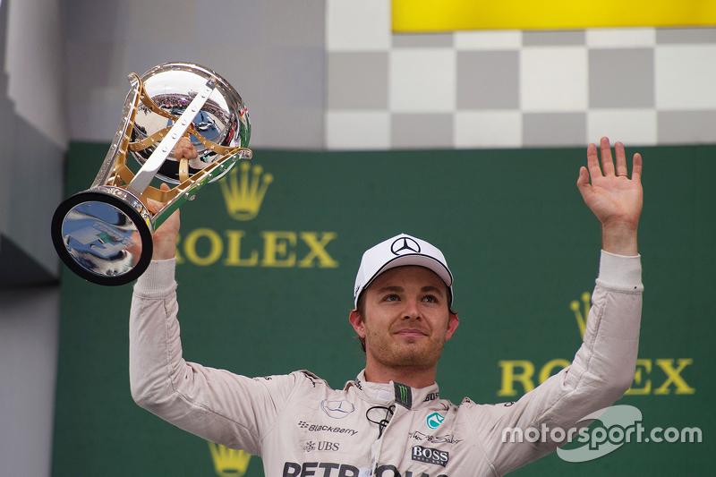 Nico Rosberg, segundo clasificado en el GP de Estados Unidos 2015