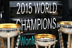 2015 World Champions Mercedes