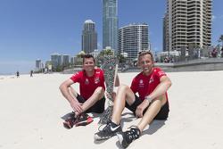 Ganadores de la Pirtek Endure Cup Garth Tander y Warren Luff, Holden Racing Team