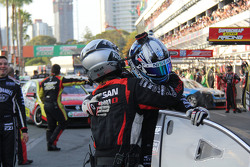Second place Rick Kelly and David Russell, Nissan Motorsports