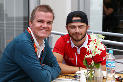 Will Stevens, Manor Marussia F1 Team met Ian Parkes, Autosport