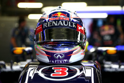 Casque de Daniel Ricciardo, Red Bull Racing RB11