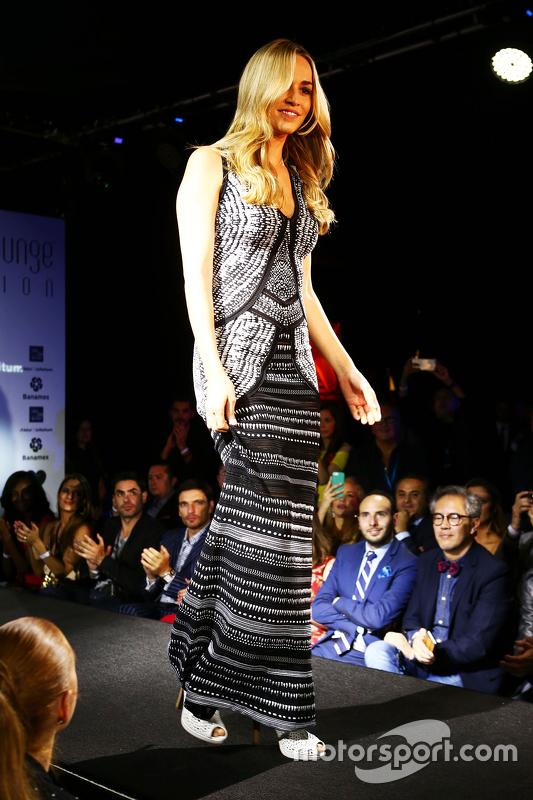 Carmen Jordá, Lotus F1 en el Amber Lounge Fashion Show