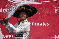Подиум: первое место - Нико Росберг, Mercedes AMG F1 W06