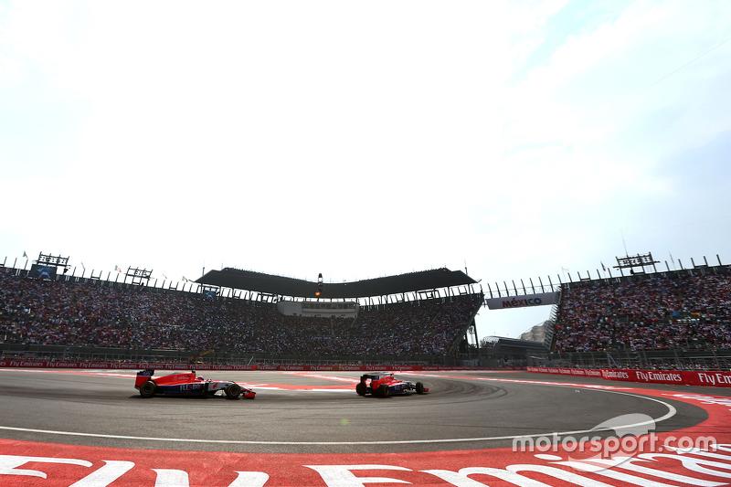 Will Stevens, Manor F1 Team e Alexander Rossi, Manor F1 Team