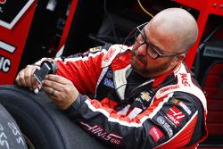 Stewart-Haas Racing mechanic