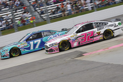 Ricky Stenhouse Jr., Roush Fenway Racing Ford; Kyle Fowler, Go FAS Racing Ford