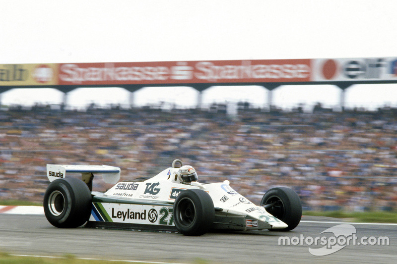 Alan Jones: campeón en 1980, 12 victorias