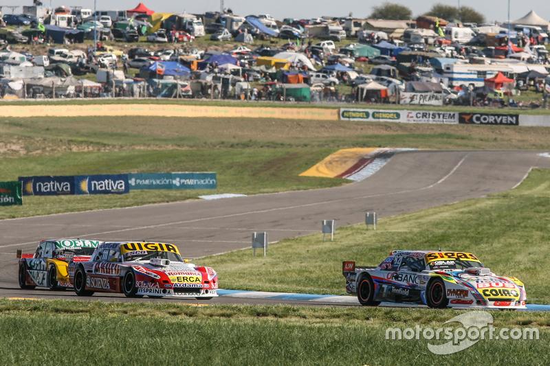 Mauricio Lambiris, Coiro Dole Racing Torino, Juan Manuel Silva, Catalan Magni Motorsport Ford, Prospero Bonelli, Bonelli Competicion Ford