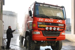 Team de Rooy presentation party: a GINAF X2223 rally truck
