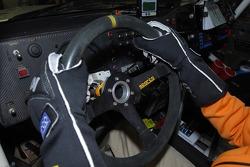 Team Fleetboard Dakar: Mitsubishi car detail