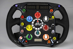 Steering of the new Ferrari F2008