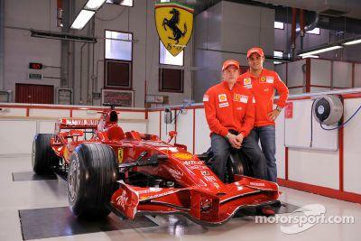 Ferrari F2008 launch, Maranello, Italy