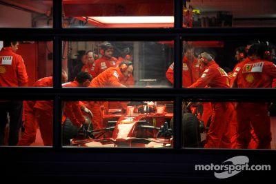 Lanzamiento del Ferrari F2008, Maranello, Italia