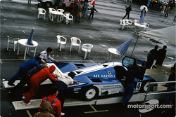 #34 Alméras Frères Porsche 962 C: Jacques Alméras, Jean-Marie Alméras, Alain Ianetta