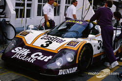 #3 Silk Cut Jaguar Jaguar XJR9 LM: Davy Jones, Jeff Kline, Derek Daly