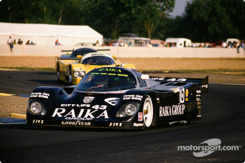 #15 Richard Lloyd Racing Porsche 962 C: David Hobbs, Damon Hill, Steven Andskar