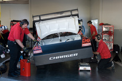 Ganassi Racing team members at work