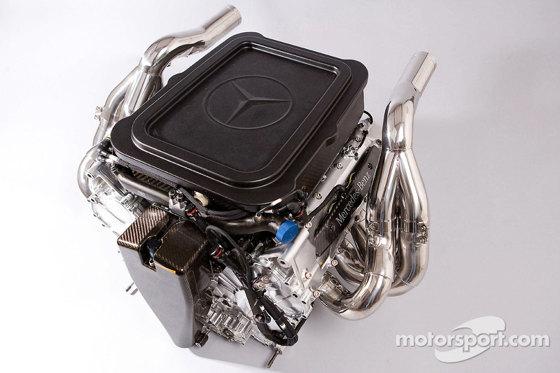 Mercedes F08 F1 engine of the McLaren Mercedes MP4-23