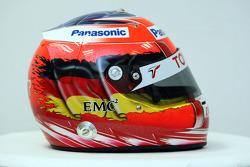 Helmet of Timo Glock