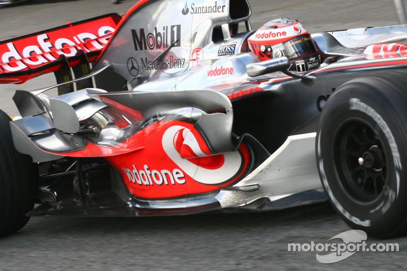 Heikki Kovalainen,  McLaren Mercedes Details