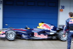 David Coulthard and the new Red Bull RB4