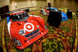 Chip Ganassi Racing with Felix Sabates: the Lexus Riley Grand Am car