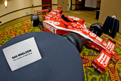 Chip Ganassi Racing with Felix Sabates: the IRL IndyCar Series car of Dan Wheldon