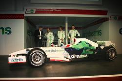 Rubens Barrichello, Honda Racing F1 Team, Jenson Button, Honda Racing F1 Team, Alexander Wurz, Test Driver, Honda Racing F1 Team