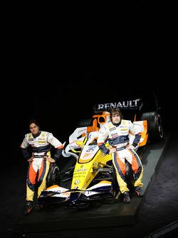 Fernando Alonso, Renault F1 Team, Nelson A. Piquet, Renault F1 Team