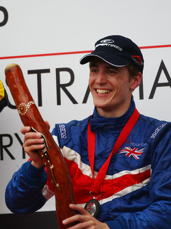 Robbie Kerr, driver of A1 Team Great Britain
