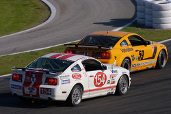 #59 Rehagen Racing Ford Mustang GT: Dean Martin, Jack Roush, #154 Jim Click Racing Ford Mustang GT: Jim Click, Mike McGovern