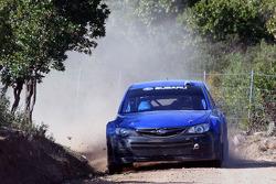 Markku Martin tests the 2008 Subaru Impreza