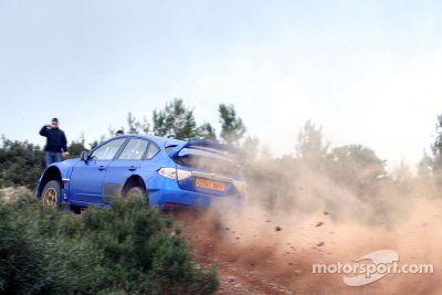 Subaru testing, Rulas, Italy