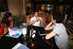 Media interviews for Adrian Sutil