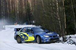 Petter Solberg y Phil Mills