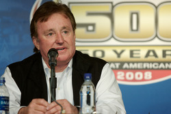 Unveiling of the commemorative car to celebrate the 10th anniversary of Dale Earnhardt's Daytona 500 win: Richard Childress