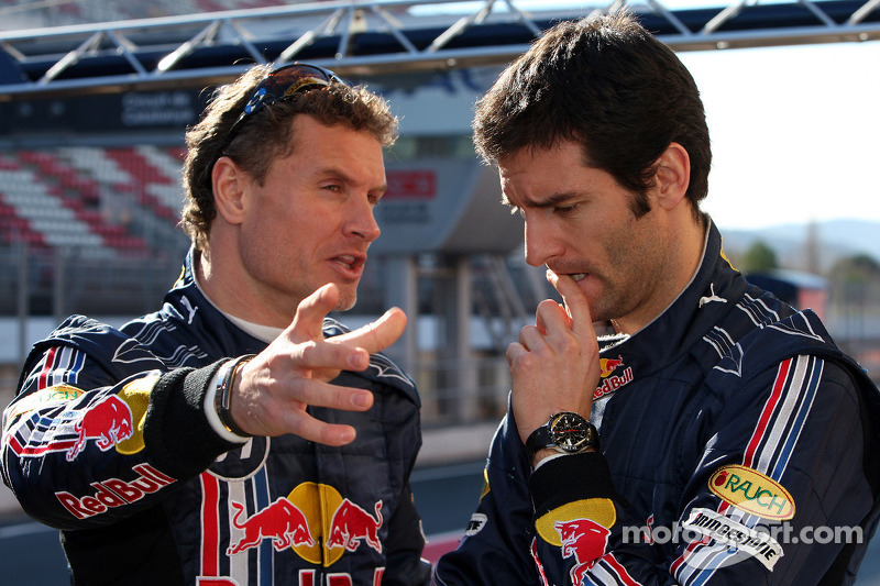 David Coulthard and Mark Webber, Red Bull Racing