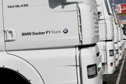 BMW Sauber F1 Team tırıs
