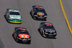 Bryan Clauson, Jason Leffler, Scott Wimmer and Johnny Sauter