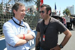 Mario Almondo, Ferrari and Luis Vicente, Seat Holder A1 Team Portugal