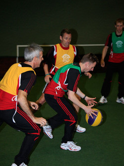 Rinaldo Capello, Tom Kristensen, Allan McNish and Mattias Ekström