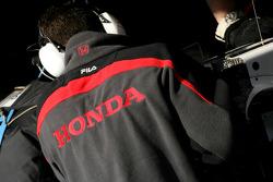 Honda Racing F1 Team mechanic