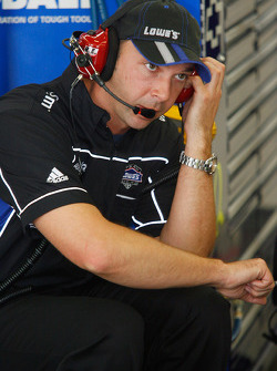 Chad Knaus, crew chief for Jimmie Johnson and the #48 Lowe's Chevrolet