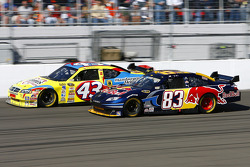 Brian Vickers and Bobby Labonte