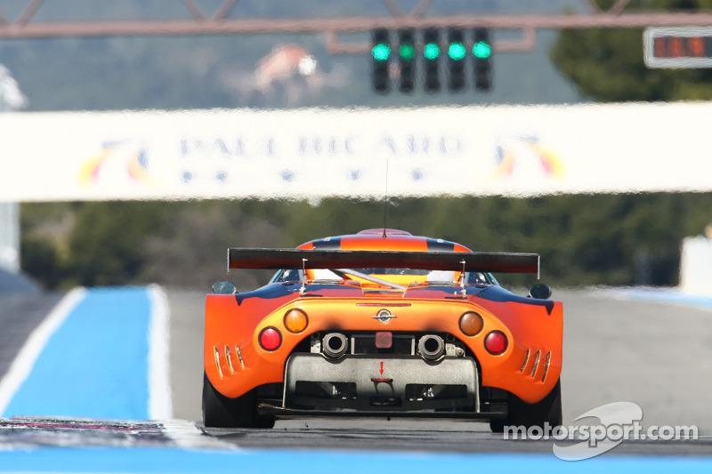 #94 Speedy Racing Team Spyker C8 Laviolette GT2R: Philippe Camandona, Andrea Chiesa, Benjamin Leuenberger