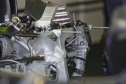 Technical Feature, gear box of Nico Rosberg, WilliamsF1 Team