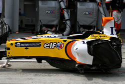Renault F1 Team, R28, Chassis Detail